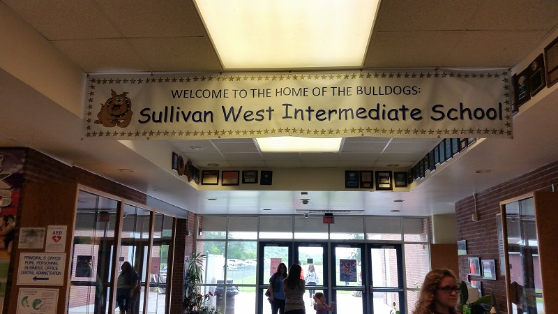 Sullivan West Elementary School, 33 Schoolhouse Road, Jeffersonville, NY  12748, Tuesday, May 24, 2016