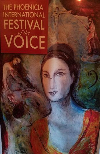 Phoenicia International Festival of The Voice, Friday, August 4th, 2017, Phoenicia Park, Mt. Ava Maria Drive, Phoenicia, NY 12464