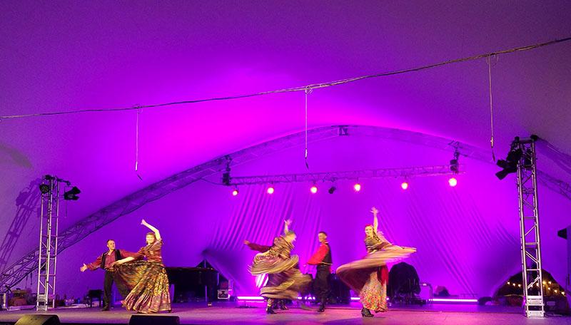 Gypsy Dance, Phoenicia International Festival of The Voice, Friday, August 4th, 2017, Phoenicia Park, Mt. Ava Maria Drive, Phoenicia, NY 12464