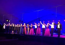 NYC Can-Can Cabaret Dancers, Phoenicia International Festival of The Voice, Friday, August 4th, 2017, NYC Can-Can Cabaret Dancers, Main Stage in Phoenicia Park, Mt. Ava Maria Drive, Phoenicia, NY 12464