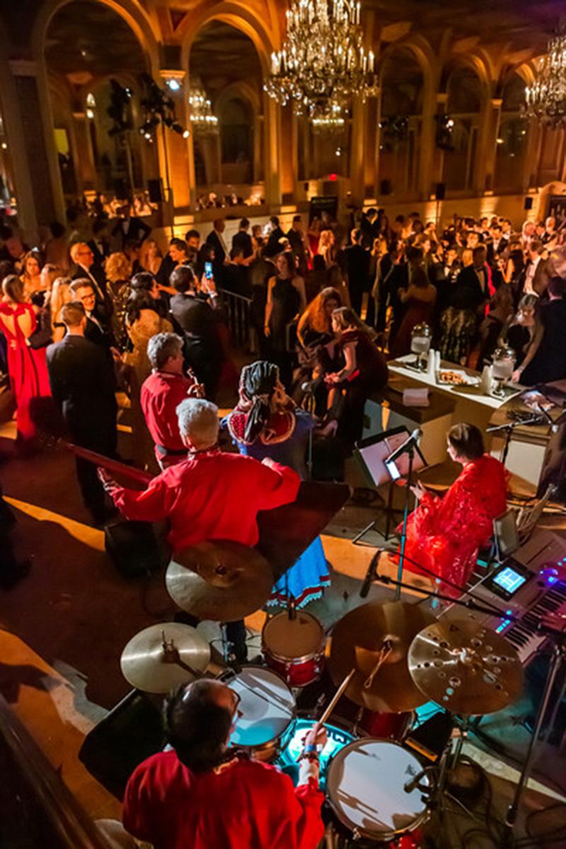 54th Annual Petroushka Ball, Barynya dancers, The Plaza Hotel, New York City, USA, Friday, February 8th 2019, Irina Zagornova
