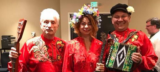 Valley Forge Casino Resort, BDAA-2018, 40th Anniversary conference of Balalaika and Domra Association of America Orchestra, King Of Prussia, Pennnsylvania, Leonid Bruk, Elina Karokhina, Mikhail Smirnov