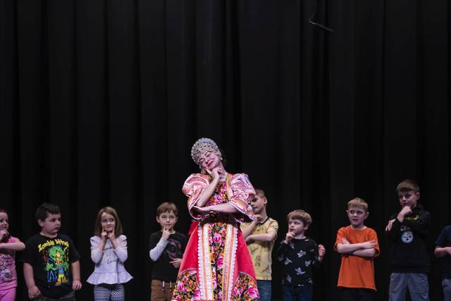 Pennsylvania Russian Dancers, Latrobe Elementary School, Latrobe, PA, Elina Karokhina, Photo Credit: Dan Speicher, Tribune-Review