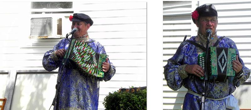 Russian Dancers Long Island, Faith Food and Fellowship Festival-2019, August 31st, 2019, Holy Trinity Orthodox Church (East Meadow, New York), 369 Green Ave East Meadow, New York, Russian garmoshka player Mikhail Smirnov, photo credit Ilene Schuss, www.facebook.com/ilene.schuss