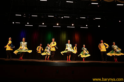 Tatar Dance from Kazan' in Tatarstan, Ensemble Barynya, photo credit Yuriy Balan, Olga Yeliseyeva, Olga Chpitalnaia, Irina Biryukova, Valentina Kvasova, Simona Zhukovski, Alexander Rudoy, Serhiy Tsyganok, Konstantin Tulinov, Ilia Pankratov, Vladimir Nikitin, Saturday, October 13, 2018, Freeport High School, Freeport Community Concert Association, FCCA, Freeport, Long Island, New York
