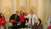 2010. Russian Consulate NYC. Click to see larger photo.  Irina Zagornova, Sergey Pobedinskiy, Valery Zhmud, Baskov