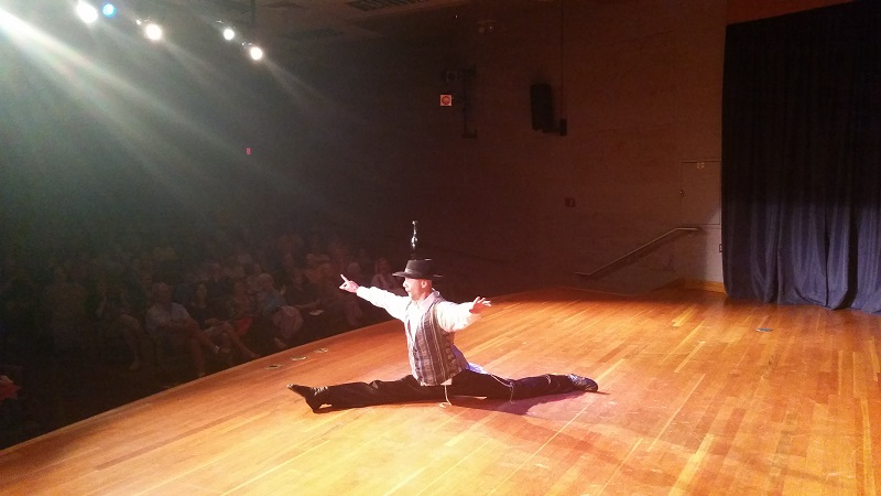 Bottle dancers USA, Marietta, Ohio, Washington State Community College, 710 Colegate Dr, Marietta, OH 45750, Saturday, September 19, 2015, dancer Boulat Moukhametov