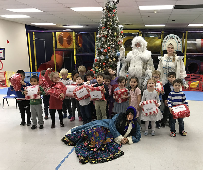 Ded Moroz, Snegurochka, Baba Yaga, Russian New Year Celebration, Child Care, Paramus, New Jersey