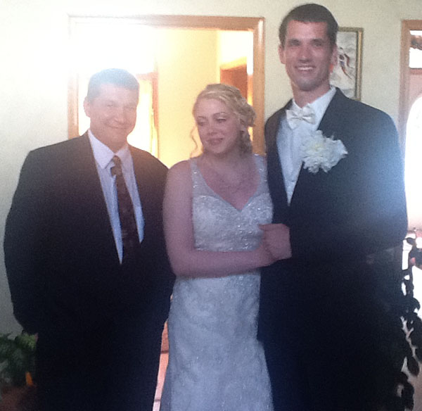 Russian Speaking Wedding Officiant Mikhail, May 19th, 2012, Colts Neck, Monmouth County, New Jersey