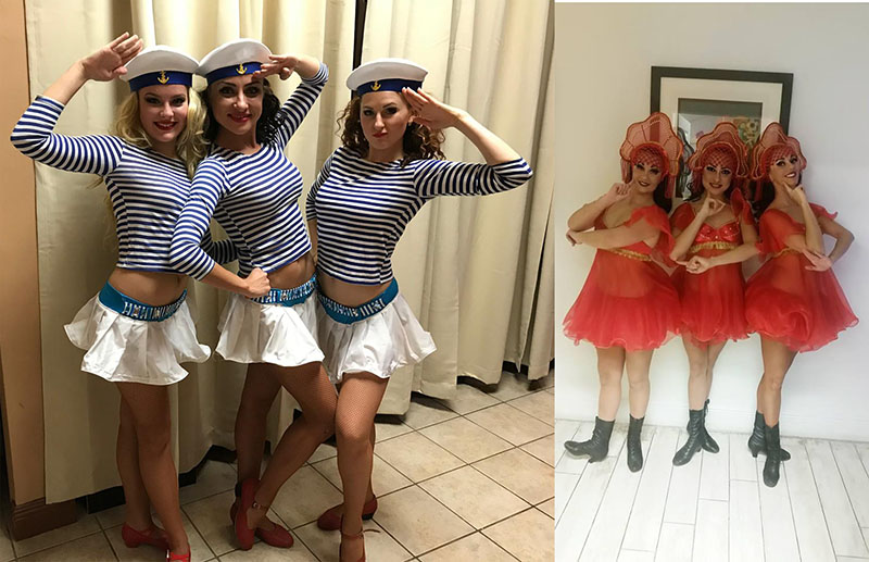 Russian dancers for hire in Florida