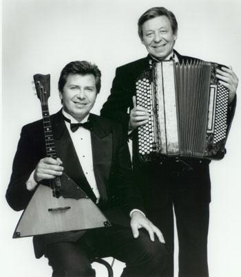 Kalinka Duo: Russian balalaika and bayan (Russian accordion) from