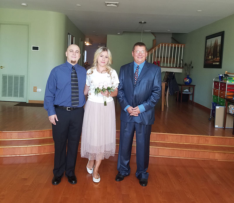 10-02-2017, Monday, October 2nd, 2017, Teaneck, New Jersey, Bergen County, Russian Wedding Officiant Mikhail, NJ Russian wedding officiant, Russian wedding ceremony